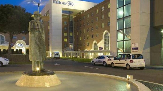 Exterior view Hilton Rome Airport