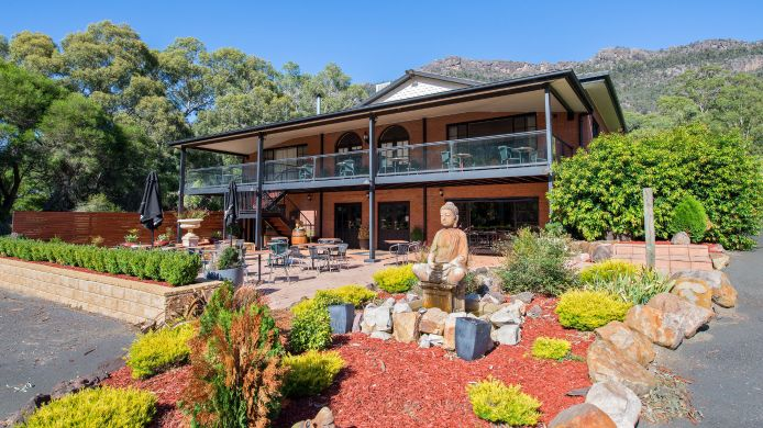 Buitenaanzicht Comfort Inn Country Plaza Halls Gap