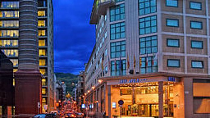 Exterior view Tryp Barcelona Apolo Hotel