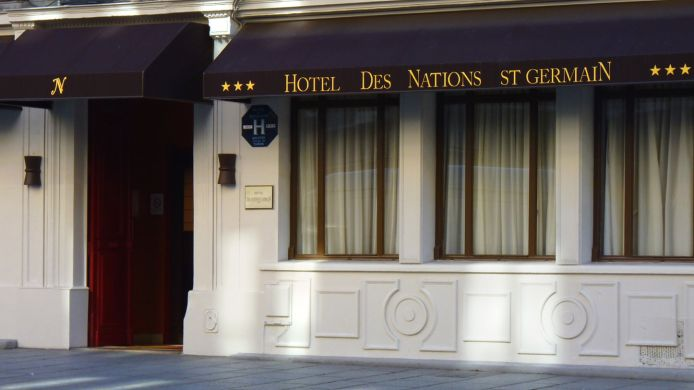 Exterior view Hotel des Nations St. Germain