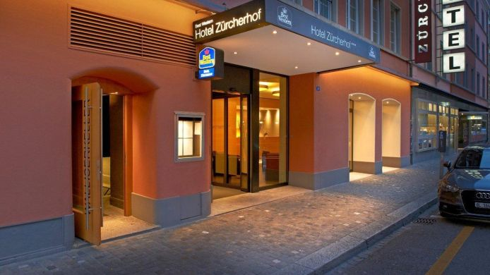 Exterior view Best Western Zuercherhof