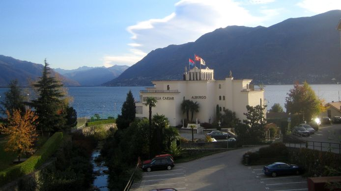 Exterior view Sunstar Boutique Hotel Villa Ceasar Brissago