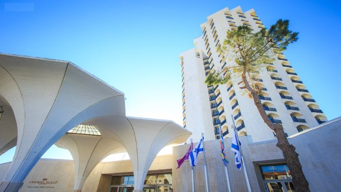 Exterior view Crowne Plaza JERUSALEM