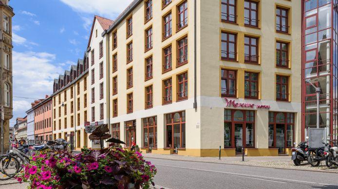 Mercure Hotel Erfurt Parkplatz