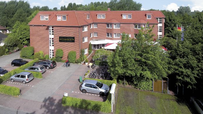 Exterior view NordWest-Hotel Am Badepark