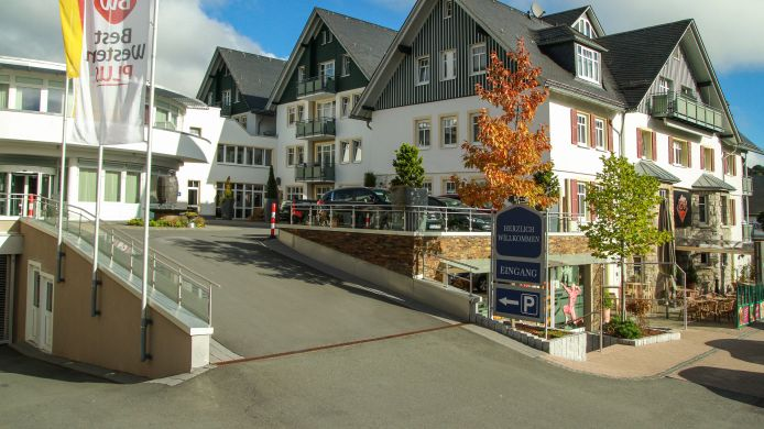 Buitenaanzicht Best Western Plus Willingen