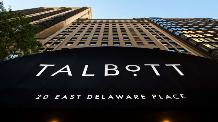 Exterior view THE TALBOTT HOTEL CHICAGO