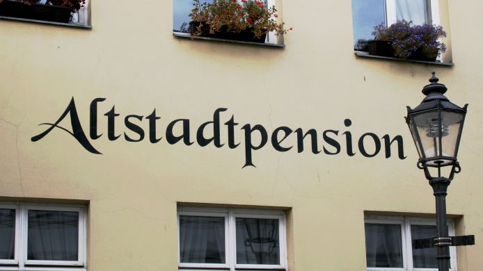Exterior view Altstadtpension Brandenburg an der Havel
