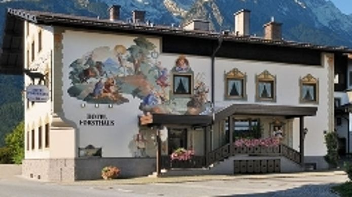 Exterior view Forsthaus