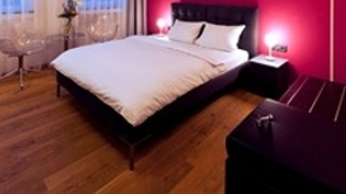 Budget double room Art Hotel Tucholsky