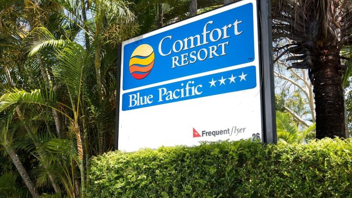 Exterior view Comfort Resort Blue Pacific