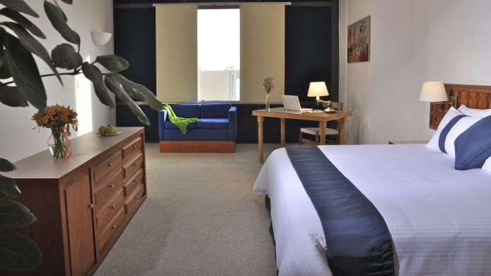 Single room (standard) Hotel Mision Guadalajara Carlton
