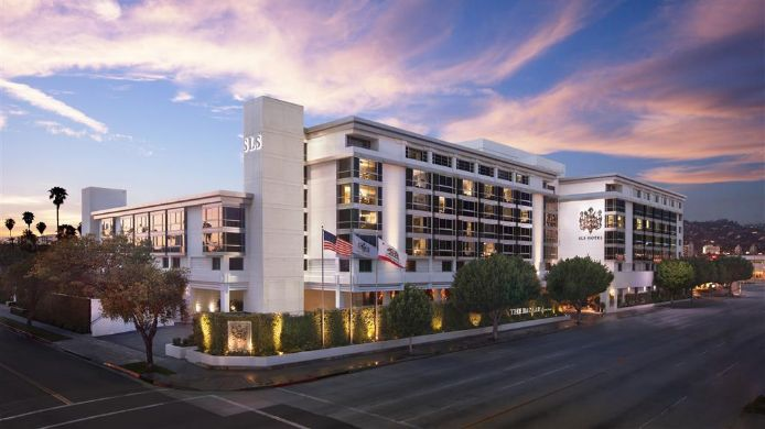 Exterior view Beverly Hills  a Luxury Collection Hotel SLS Hotel