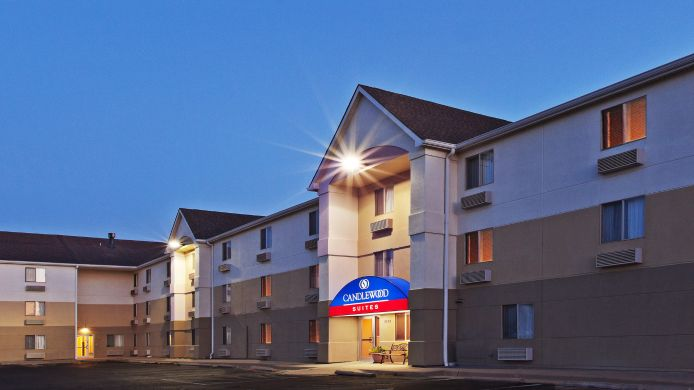 Buitenaanzicht Candlewood Suites WICHITA-NORTHEAST