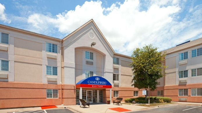 Exterior view FT WORTH/FOSSIL CREEK Candlewood Suites DALLAS
