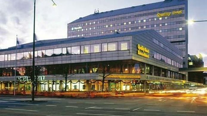 Exterior view Malmo Quality Hotel Konserthuset