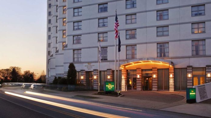 Buitenaanzicht Homewood Suites by Hilton Philadelphia-City Avenue