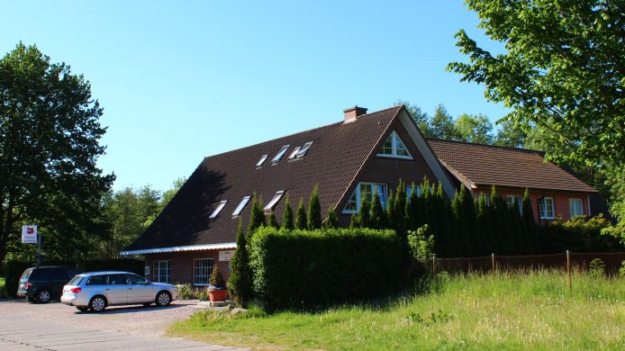 Buitenaanzicht Am Fuchsberg Pension