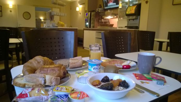 Breakfast room Citotel d Alsace
