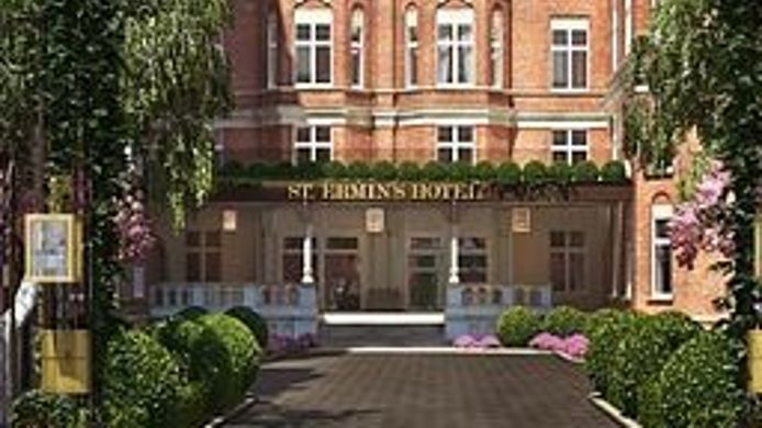 Buitenaanzicht St. Ermin's Hotel Autograph Collection