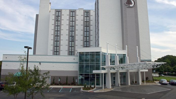 Exterior view DoubleTree by Hilton Virginia Beach