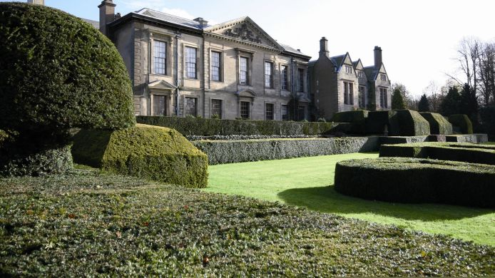 Exterior view Coombe Abbey