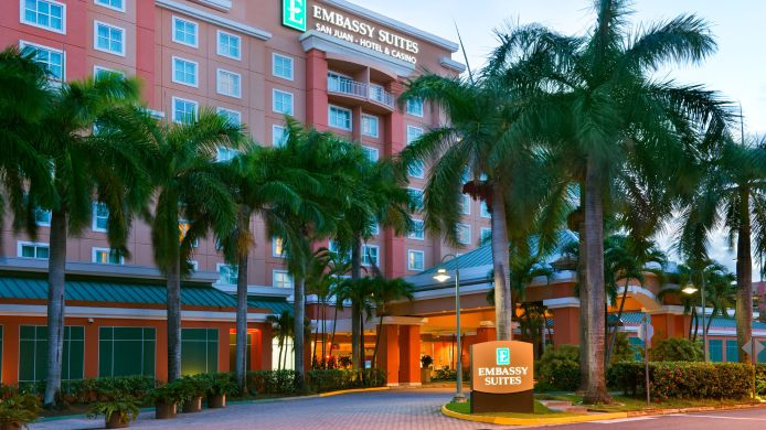 Exterior view Embassy Suites by Hilton San Juan Hotel - Casino