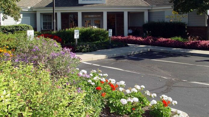 Buitenaanzicht Homewood Suites Columbus-Worthington