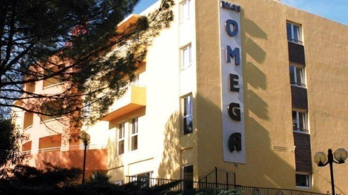 Exterior view Hotel Omega