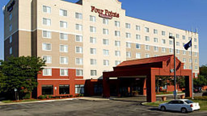 Exterior view Four Points by Sheraton Detroit Metro Airport