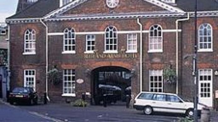 Exterior view The Rutland Arms