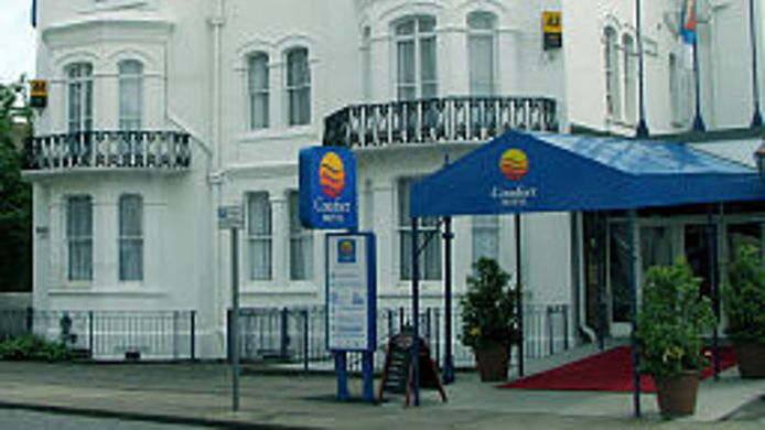 Vue extérieure Comfort Hotel Great Yarmouth