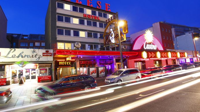 Hamburg Hotel Doppelzimmer Reeperbahn