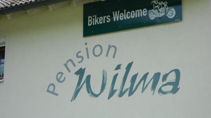 Exterior view Pension Wilma