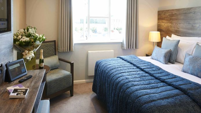 Double room (superior) Wyboston Lakes