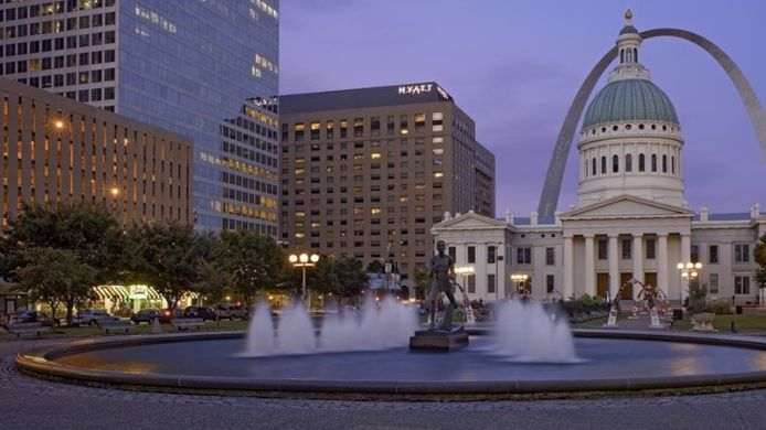 Exterior view Hyatt Regency St Louis At The Arch