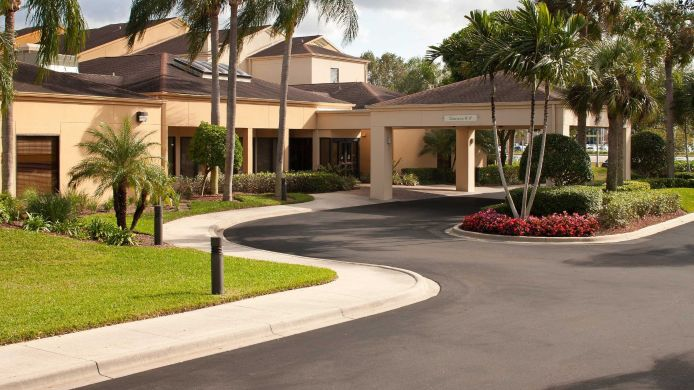 Buitenaanzicht Courtyard Fort Myers Cape Coral