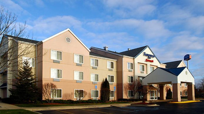 Buitenaanzicht Fairfield Inn Kalamazoo West
