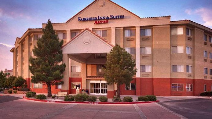 Exterior view Fairfield Inn & Suites Albuquerque Airport