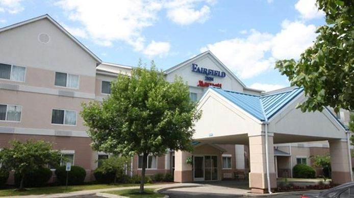 Buitenaanzicht Fairfield Inn Albany University Area
