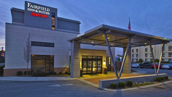 Buitenaanzicht Fairfield Inn & Suites Chattanooga