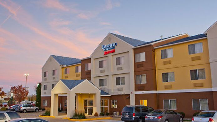 Buitenaanzicht Fairfield Inn & Suites Champaign