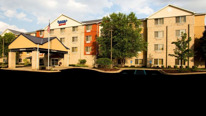 Buitenaanzicht Fairfield Inn & Suites Detroit Livonia
