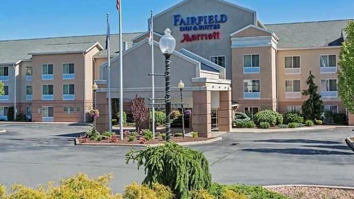 Exterior view Fairfield Inn & Suites Hazleton