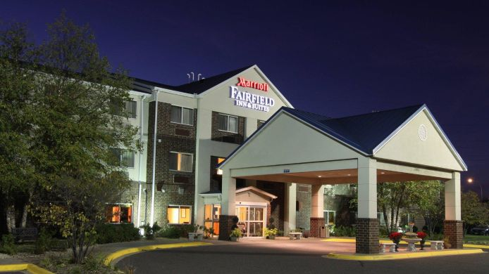 Buitenaanzicht Fairfield Inn & Suites Minneapolis St. Paul/Roseville