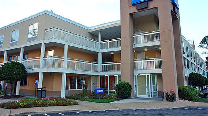 Exterior view MOTEL 6 VIRGINIA BEACH VA