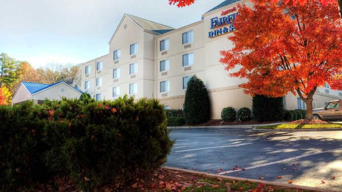 Exterior view Fairfield Inn & Suites Raleigh Crabtree Valley