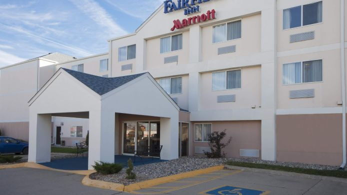 Exterior view Fairfield Inn Sioux City