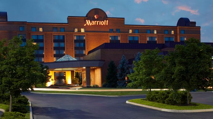 Exterior view Hartford/Windsor Marriott Airport