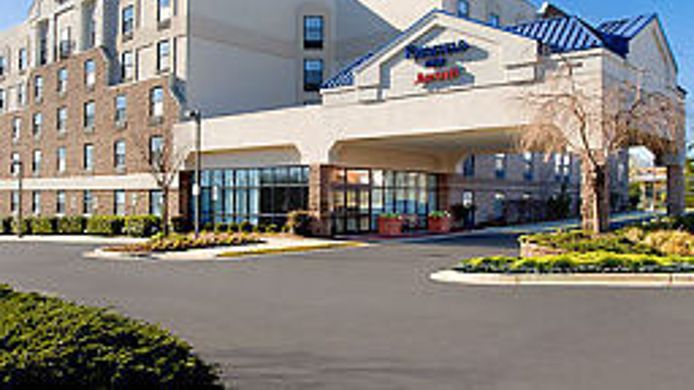 Exterior view Fairfield Inn Laurel